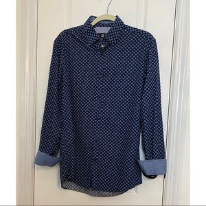 STEEL AND JELLY OF LONDON MEN'S BUTTON DOWN SHIRT